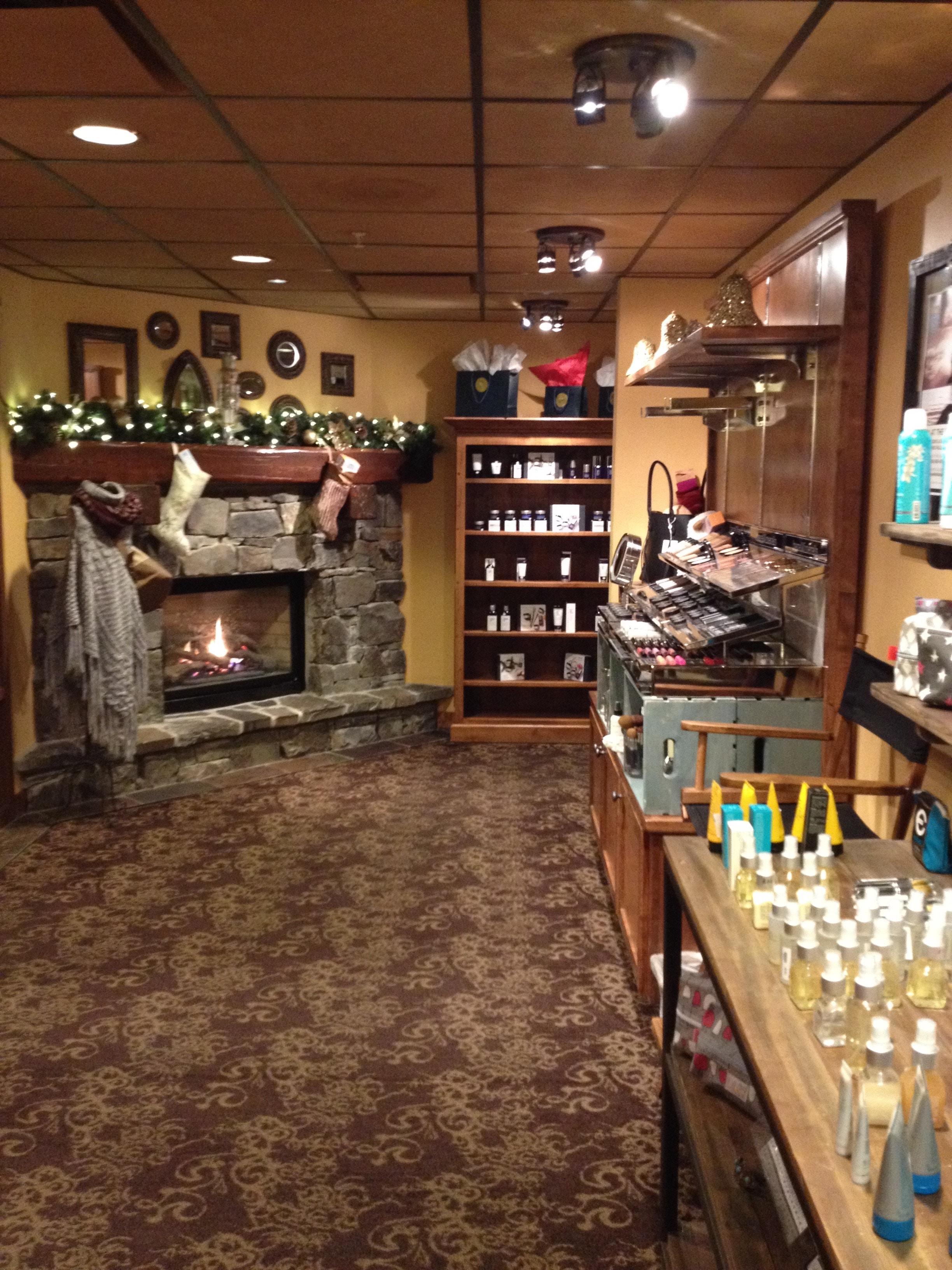 Whitefish Lodge Spa Lobby